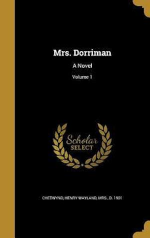 Bog, hardback Mrs. Dorriman