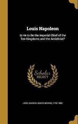 Bog, hardback Louis Napoleon