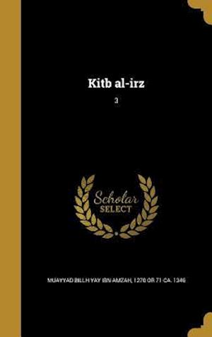 Bog, hardback Kitb Al-Irz; 3