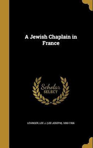 Bog, hardback A Jewish Chaplain in France