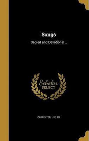 Bog, hardback Songs