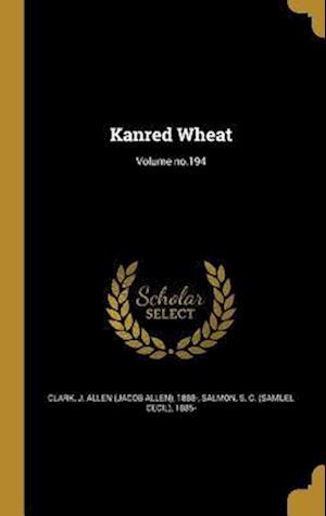 Bog, hardback Kanred Wheat; Volume No.194