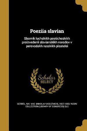 Bog, paperback Poeziia Slavian