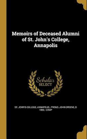 Bog, hardback Memoirs of Deceased Alumni of St. John's College, Annapolis