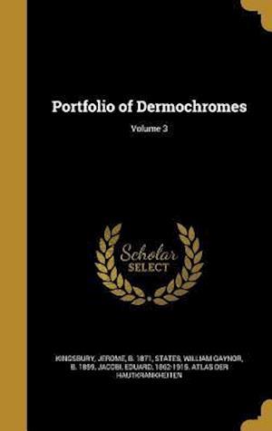 Bog, hardback Portfolio of Dermochromes; Volume 3