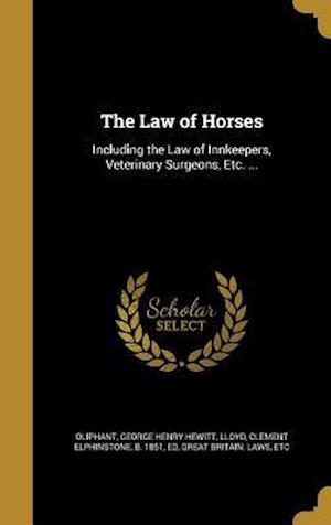 Bog, hardback The Law of Horses
