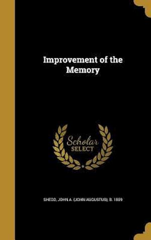 Bog, hardback Improvement of the Memory