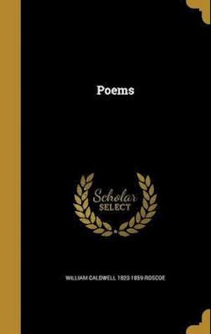 Bog, hardback Poems af William Caldwell 1823-1859 Roscoe