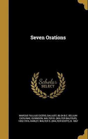 Bog, hardback Seven Orations af Marcus Tullius Cicero