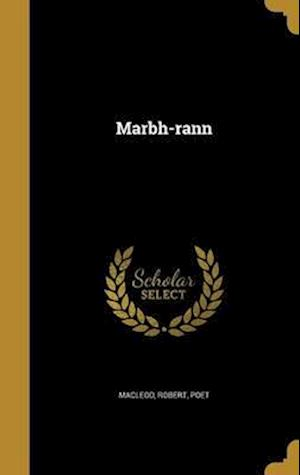 Bog, hardback Marbh-Rann