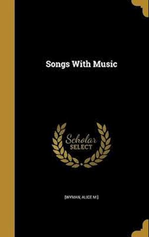 Bog, hardback Songs with Music