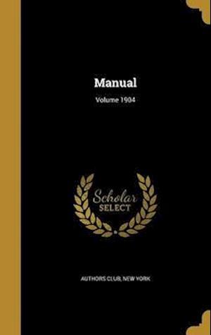 Bog, hardback Manual; Volume 1904