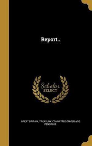 Bog, hardback Report..
