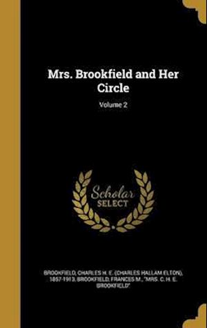 Bog, hardback Mrs. Brookfield and Her Circle; Volume 2