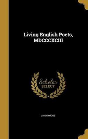 Bog, hardback Living English Poets, MDCCCXCIII