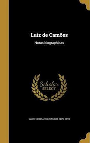 Bog, hardback Luiz de Camoes