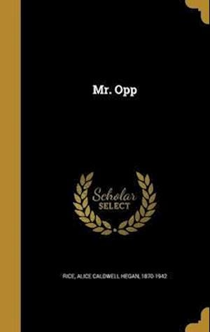 Bog, hardback Mr. Opp