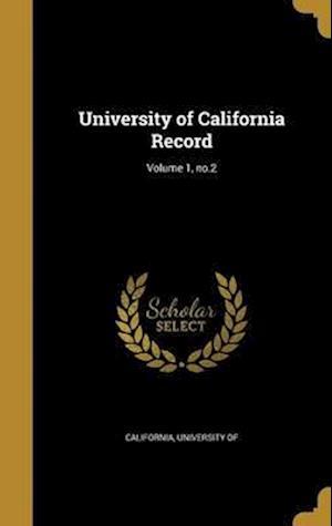 Bog, hardback University of California Record; Volume 1, No.2