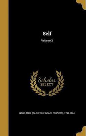 Bog, hardback Self; Volume 3