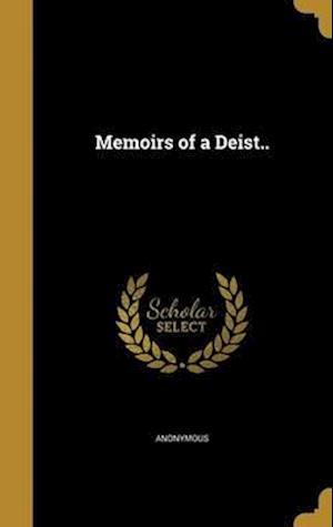 Bog, hardback Memoirs of a Deist..