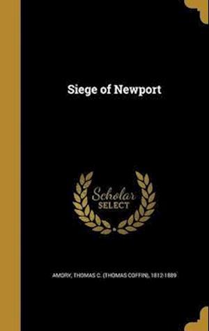 Bog, hardback Siege of Newport