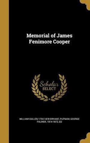 Bog, hardback Memorial of James Fenimore Cooper af William Cullen 1794-1878 Bryant