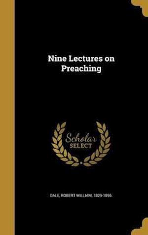 Bog, hardback Nine Lectures on Preaching