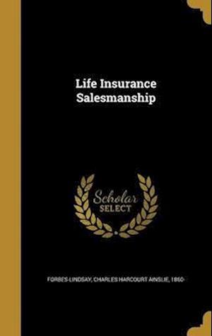 Bog, hardback Life Insurance Salesmanship