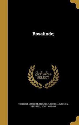 Bog, hardback Rosalinde;