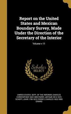 Bog, hardback Report on the United States and Mexican Boundary Survey, Made Under the Direction of the Secretary of the Interior; Volume V 11 af Spencer Fullerton 1823-1887 Baird