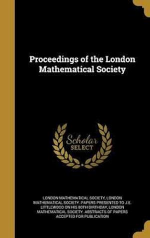 Bog, hardback Proceedings of the London Mathematical Society