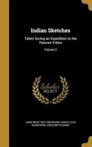 Bog, hardback Indian Sketches af John Treat 1812-1906 Irving