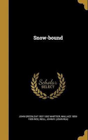 Bog, hardback Snow-Bound af Wallace 1859-1939 Rice, John Greenleaf 1807-1892 Whittier