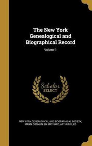 Bog, hardback The New York Genealogical and Biographical Record; Volume 1