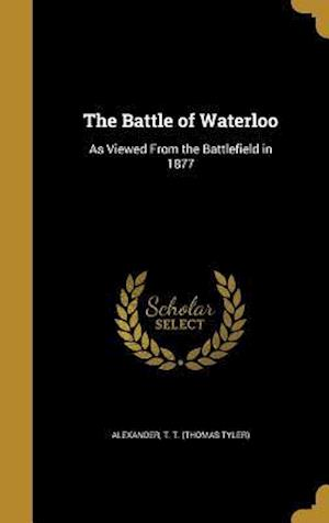 Bog, hardback The Battle of Waterloo