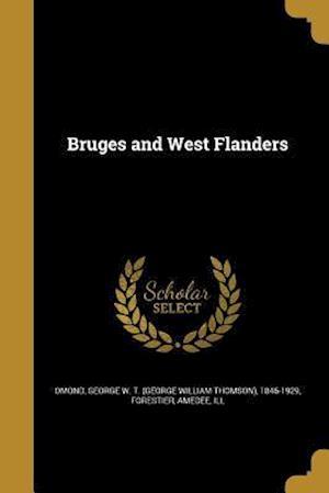 Bog, paperback Bruges and West Flanders