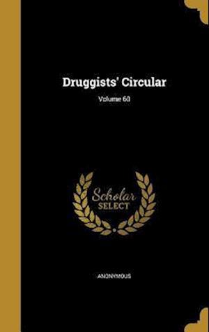 Bog, hardback Druggists' Circular; Volume 60