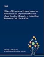 Effects of Hypoxia and Hyperglycemia on Proliferation and Expression of Glucose-related Signaling Molecules in Extravillous Trophoblast Cell Line in V