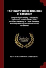 The Twelve Tissue Remedies of Schüssler: Comprising the Theory, Therapeutic Application, Materia Medica, and a Complete Repertory of These Remedies. H