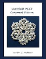 Snowflake #115 Ornament Pattern