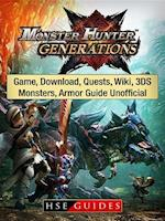 Monster Hunter Generations Game, Download, Quests, Wiki, 3DS, Monsters, Armor Guide Unofficial