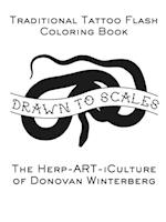 Drawn to Scales : Traditional Tattoo Flash Coloring Book