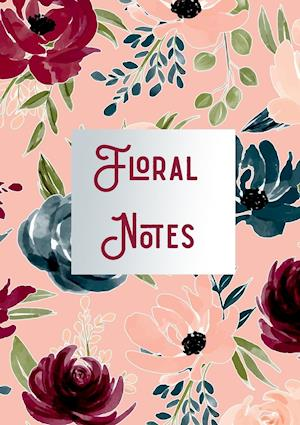 Floral Note Book