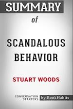 Summary of Scandalous Behavior by Stuart Woods: Conversation Starters