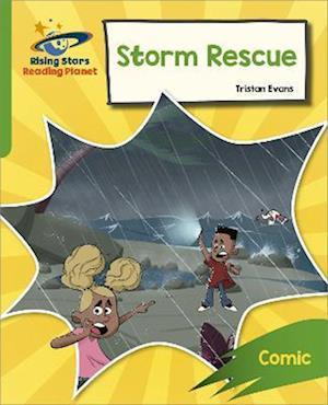 Reading Planet: Rocket Phonics - Target Practice - Storm Rescue - Green