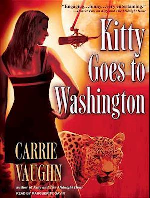 Lydbog, CD Kitty Goes to Washington af Carrie Vaughn