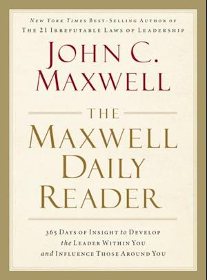 Bog, paperback The Maxwell Daily Reader af John C Maxwell