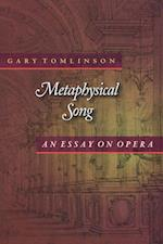 Metaphysical Song af Gary Tomlinson
