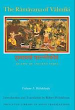 Ramayana of Valmiki: An Epic of Ancient India, Volume I (PRINCETON LIBRARY OF ASIAN TRANSLATIONS)