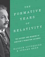 Formative Years of Relativity